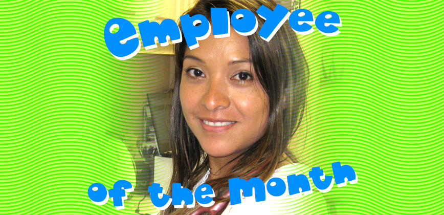 Employee of the Month - February 2021